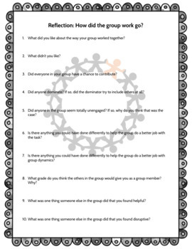 Group Work Expectations and Reflection: Setting up Success