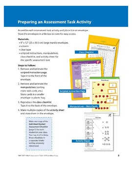 Preparing an Assessment Task