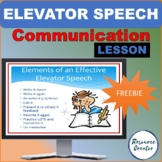 Preparing an Elevator Speech - Get to know you