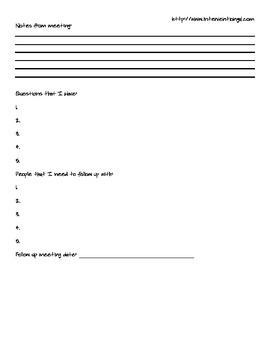 Preparing and Participating In An IEP Meeting- A Guide and Workbook for Parents