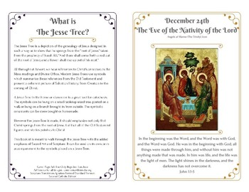Preparing for Christmas: Advent Jesse Tree Book