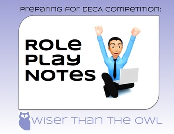 Preparing for DECA Competition: Role Play Notes