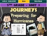 Journeys Grade 5 Trifold (Preparing for Hurricanes)