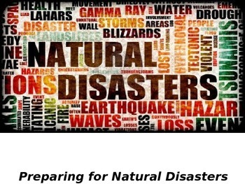 Preparing for Natural Disasters PPT