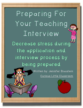 Preparing for Your Teaching Interview