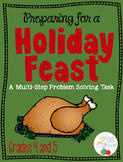 Preparing for a Holiday Feast: A Multi-Step Problem Solving Task