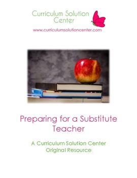 Preparing for a Substitute Teacher