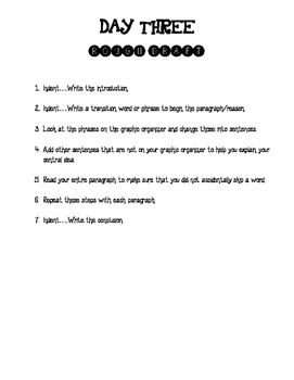 Preparing for the 4th Grade Writing STAAR Test