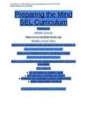 Preparing the Mind Social Emotional Learning Curriculum