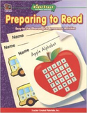 Preparing to Read:  Easy to Use Phonological Awareness Activities