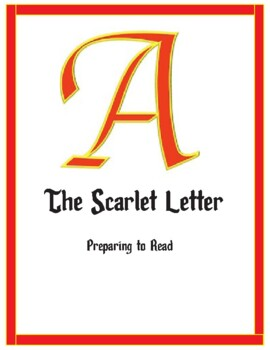 Preparing to Read The Scarlet Letter