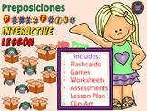 Preposiciones - NO PREP Power Point Lesson