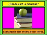 Preposiciones (Prepositions in Spanish) PowerPoint