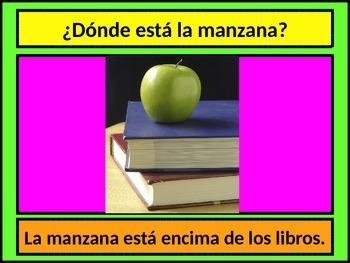 Preposiciones (Prepositions in Spanish) power point