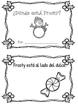 Preposiciones de Frosty