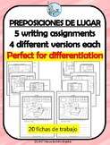 Preposiciones de lugar Compositions with House vocabulary