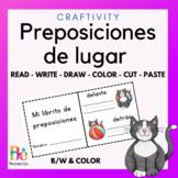 Preposiciones de lugar Positional Words Activity in Spanish