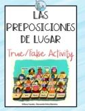 Las preposiciones de lugar Spanish prepositions of Place Preposiciones de lugar