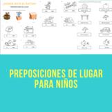 Preposiciones de lugar / prepositions of place