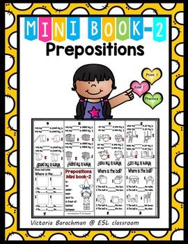 ESL /Prepositions-Mini Book-2