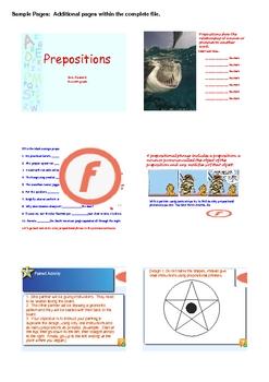 Preposition Activities II