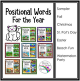 Preposition Activities (Positional Words) All Year