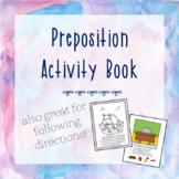 Preposition Activity Book | No-Prep Worksheets
