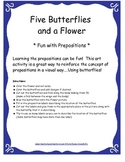 Preposition Activity Pack: Bingo, Charades, 3-D picture, and more FUN activities