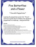 Preposition Activity Pack: Bingo, Charades, 3-D picture, a