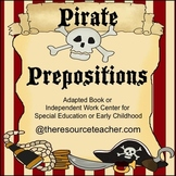 Preposition Activity for Special Education or Early Childhood