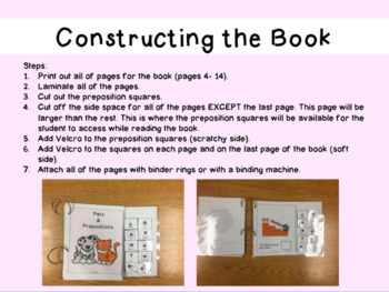Preposition Adapted Book
