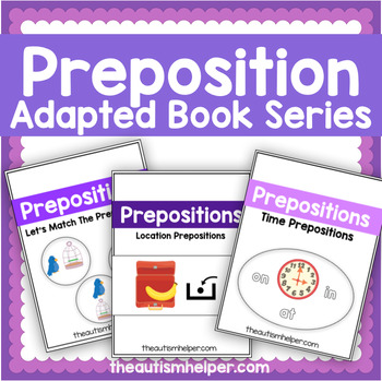 Preposition Adapted Book Series