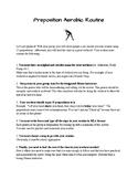 Preposition Aerobics Routine