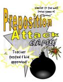 Preposition Attack Grammar Game