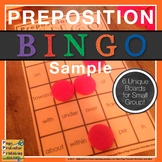 Preposition BINGO Sampler