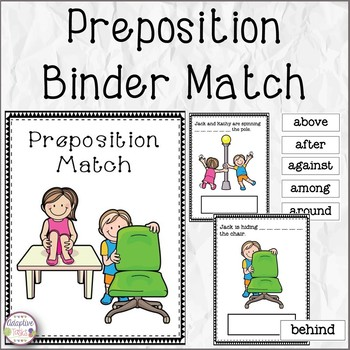 Preposition Binder Match