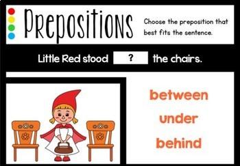 Preposition Boom Cards (Digital Task Cards)