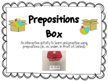 Preposition Box