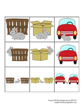 Preposition Card Game (any language) - Spanish & English /k/ Articulation Cards
