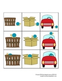 Preposition Card Game (any language) - Spanish & English /