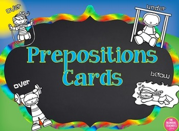 Preposition Cards in English