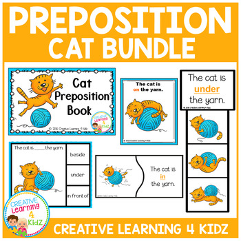 Prepositions Cat Bundle