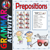 Prepositions, Center Station Activity