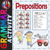 Prepositions, Center Station Activity