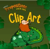 Preposition Clip Art