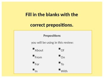 Preposition Collocations ppt_Level 1