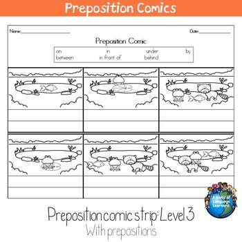 Preposition Comics: Animals