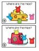 Preposition Practice - Comprehension Cards