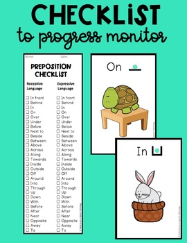 Preposition Flash & Playing Cards