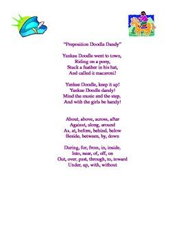 Preposition Doodle Dandy